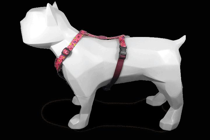 Morso® - H Dog Harness | PINK THINK