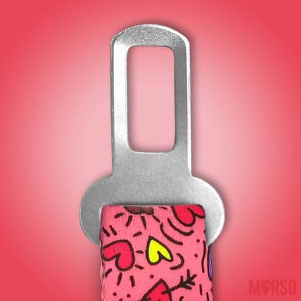 Morso® - Safety belt for dogs | PINK THINK