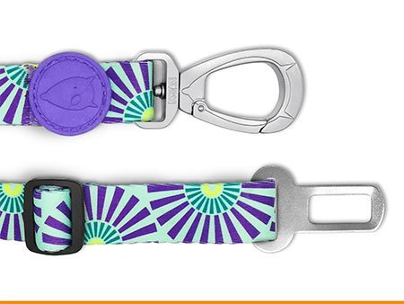 Morso® - Safety belt for dogs | COLORED SUN