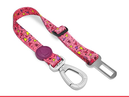 Morso® - Safety belt for dogs | PINK THINK