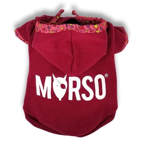 Morso® - PINK THINK | Dog's hoodie